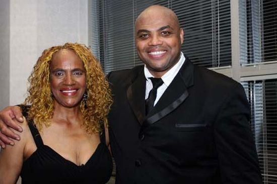 Charles Barkley z mamą