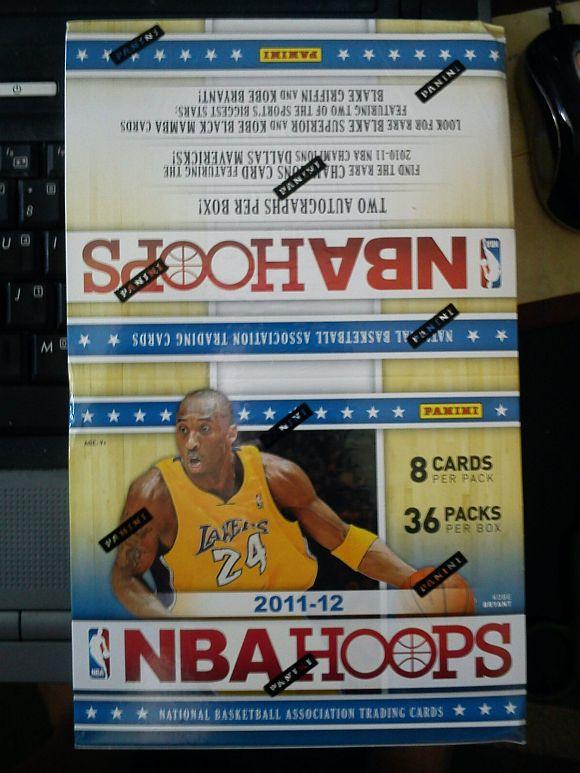 Box 2011-12 Panini Hoops