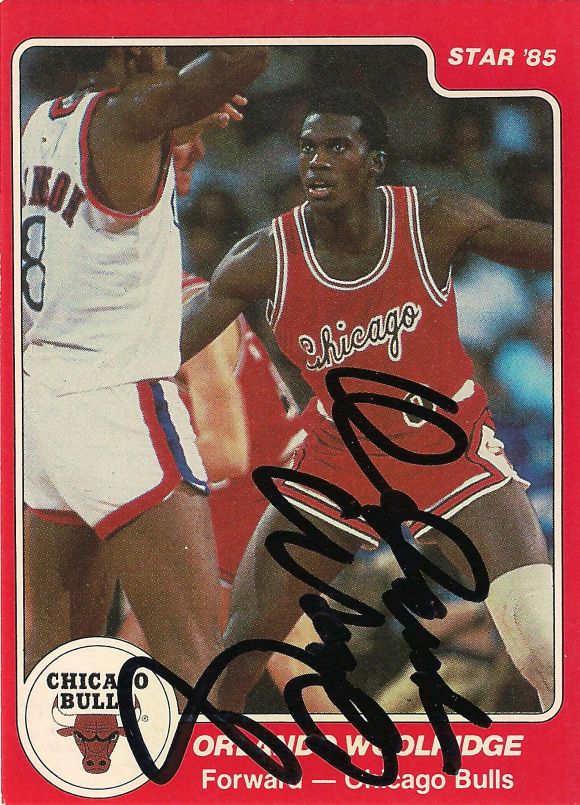 Orlando Woolridge signed