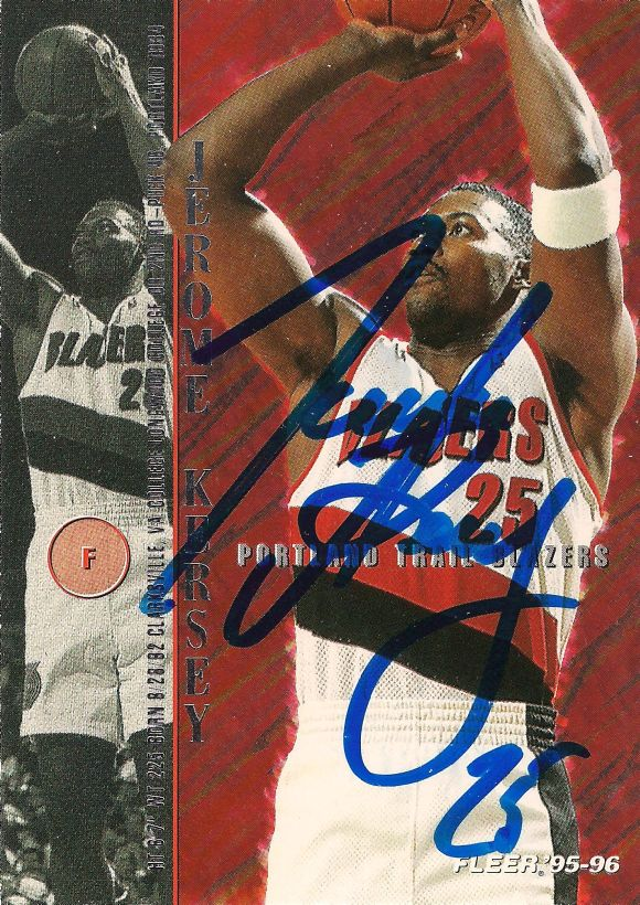 Jerome Kersey signed