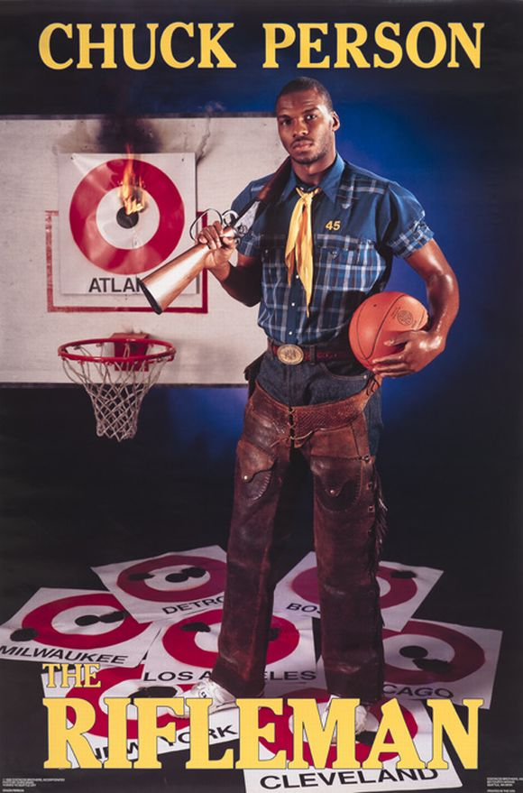 chuck person rifleman