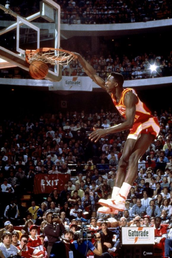 1988 NBA Slam Dunk Contest Dominique Wilkins