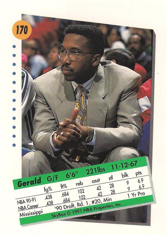 Gerald Glass back