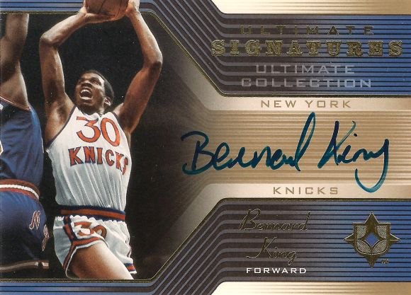 Bernard King auto 2