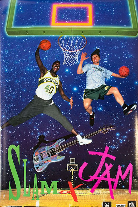 Shawn Kemp i Jeff Ament