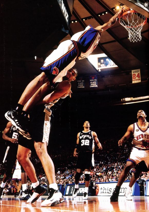 Marcus Camby vs. Tim Duncan