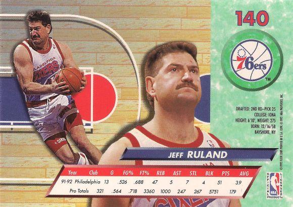 Jeff Ruland back
