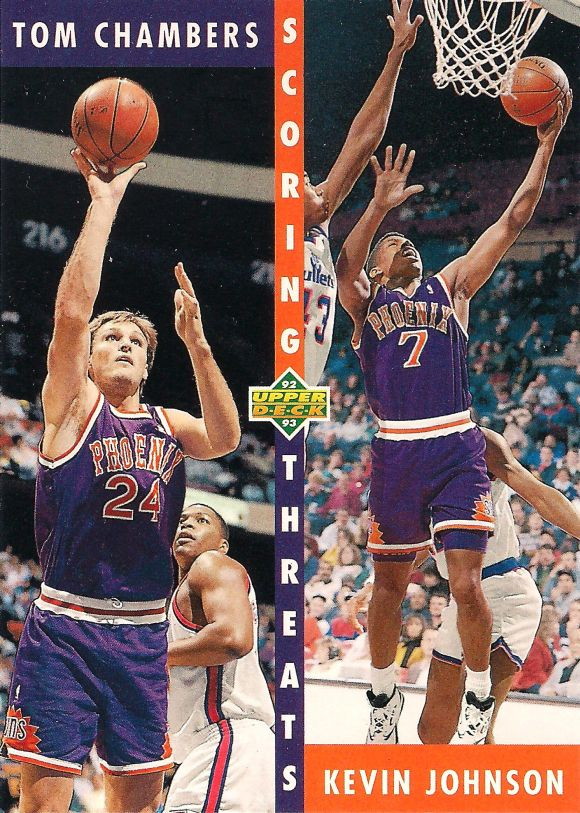 Tom Chambers i Kevin Johnson