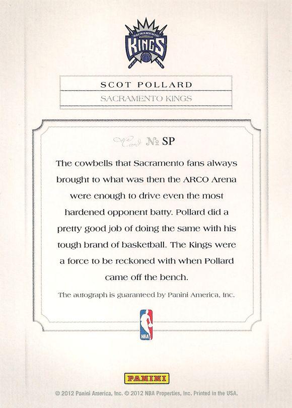 Scot Pollard back