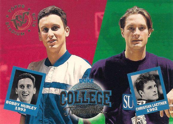 Bobby Hurley & Christian Laettner