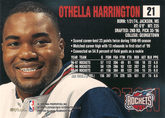 Othella Harrington